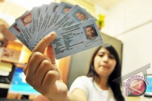 KTP Elektronik membantu pendataan jumlah pemilih Sumsel
