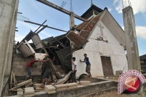 Puluhan rumah rusak di Banten Selatan akibat gempa bumi