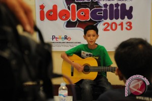 Puluhan anak ikuti audisi idola cilik