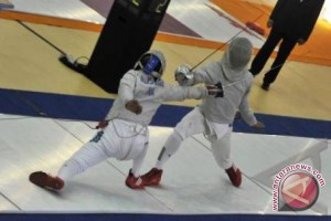 Pon 2016 - Pertandingan final sabre putri dihentikan
