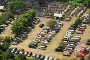 Dishub Palembang tertibkan juru parkir