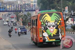 Bus kota berstiker
