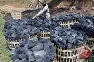 Permintaan arang-tusuk sate di Palembag meningkat