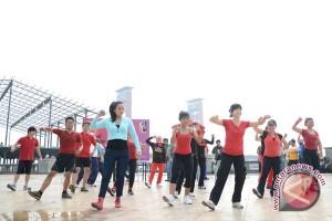 Empat dari lima orang Indonesia tidak olahraga secara teratur
