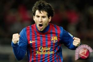 Messi pencetak gol terbanyak di Liga Spanyol