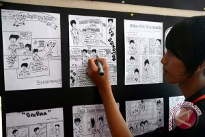 "Komik ""The Return"" jembatani budaya Indonesia-Belanda"