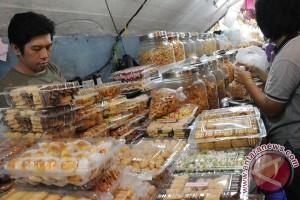 Pedagang kue lebaran