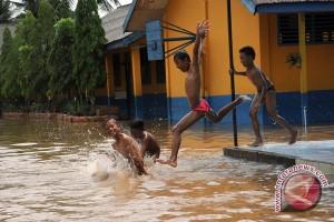 Puluhan sekolah di Musirawas Utara terendam banjir