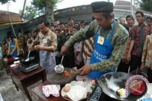 Pedagang nasi goreng masuk di Istana Bogor