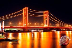 Palembang pasang 1.300 titik lampu jalan jelang ISG