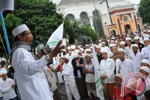 Aksi solidaritas umat muslim