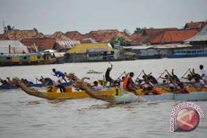 Jambi gelar kejuaraan perahu naga nasional