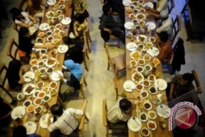 Menuju destinasi wisata kuliner terfavorit