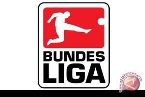 Hasil pertandingan dan klasemen sementara liga Jerman