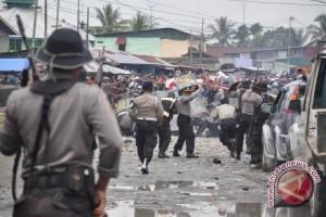 Warga desa yang bentrok di kerinci berdamai