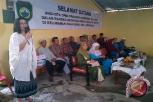 Anggota DPRD Sumsel tampung aspirasi warga