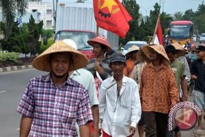 Solidaritas rakyat Sumsel terhadap aksi jalan kaki petani Jambi
