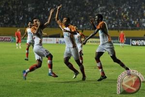 Sriwijaya FC Menang