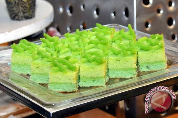Kue pandan salah satu makanan khas palembang foto antarasumsel com 13