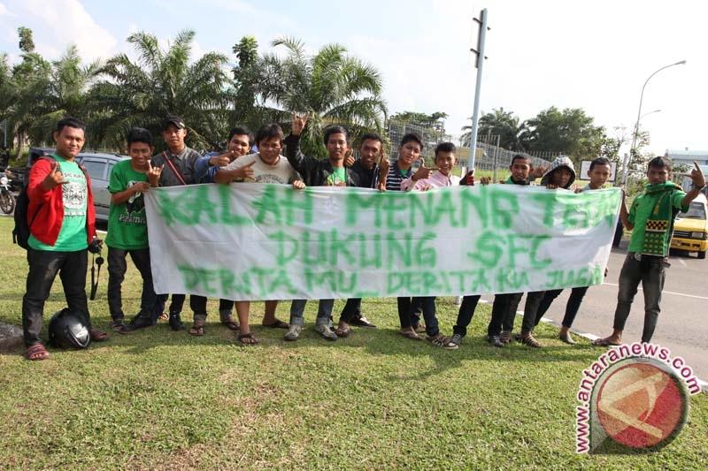 'Singa Mania' sambut tim Sriwijaya FC