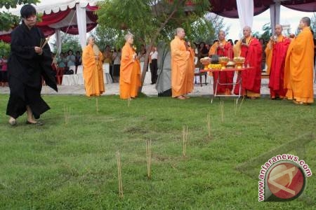 Festival Candi Muarojambi digelar bersamaan perayaan Waisak