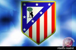 Atletico amankan peringkat kedua Liga spanyol