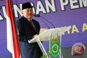 Gubernur Sumsel lantik empat pejabat bupati