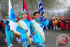 Karnaval drum band se-Sumsel