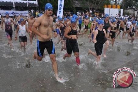 Kawasan Jakabaring ditutup terkait lomba triathlon
