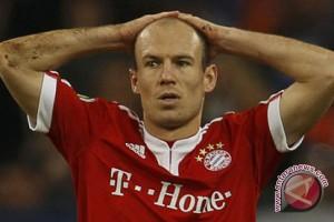 Robben bugar untuk pertandingan penting melawan Leipzig