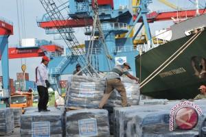 Pelayanan bongkar-muat di pelabuhan Palembang normal