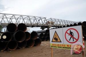 Kontraktor jembatan plengkung ponton alami kerugian