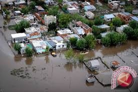 Banjir bandang kembali hantam Merangin Jambi