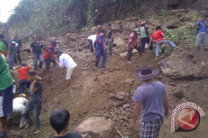 Tiga desa di Banjarnegara terkena tanah longsor