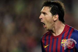 Messi bergabung klub 100 gol Eropa