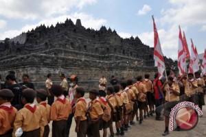 Jumlah pengunjung Candi Borobudur meningkat