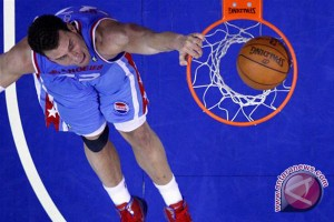 Data hasil pertandingan NBA