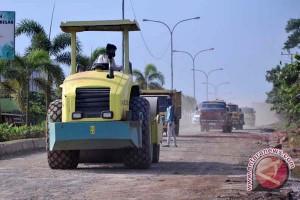 Perbaikan jalan Noerdin Pandji Palembang tunggu anggaran
