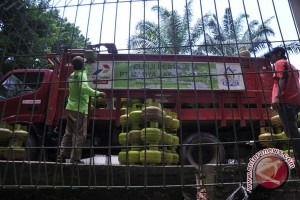 Penjualan elpiji 3 kg di Palembang meningkat