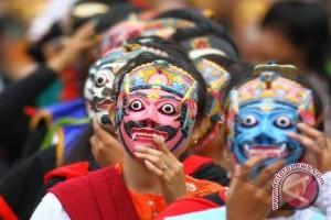 Paviliun Indonesia menggelar Galeri Topeng Milan Expo