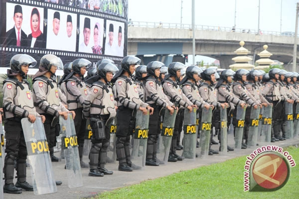 2.000 personel kepolisian menjaga sidang Ahok