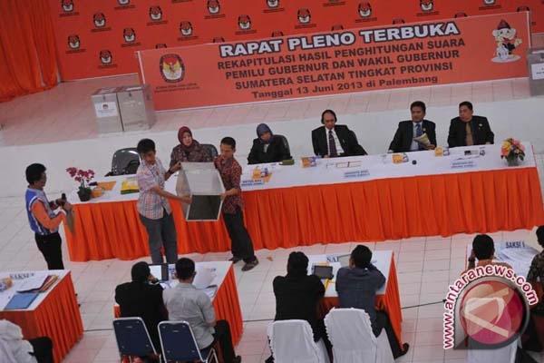 KPU tetapkan calon Gubernur Sumsel terpilih