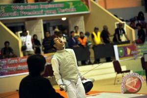 PON 2016 - Sumatera Selatan ke final beregu sabre putra