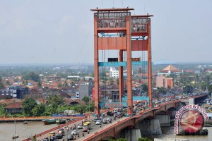 Jembatan Ampera dipasang kamera pengintai