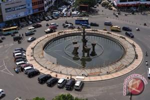 Kota Pekanbaru lengang saat pemungutan suara