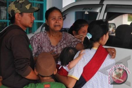 Orang tua lebih banyak yang mengungsi