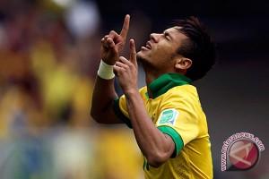 Brazil 'libas' Rusia 3-0 dalam laga persahabatan