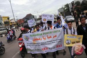 PKS Sumsel gelar pawai Ramadhan jelang puasa