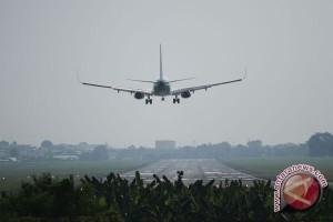 Rombongan wartawan gagal mendarat di Pangkal Pinang