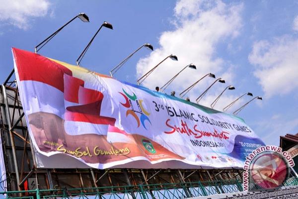 Stadion Bumi Sriwijaya dibenahi untuk pembukaan ISG
